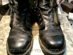 Figured latka on the Kiev footwear