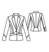 Tailoring of a jacke