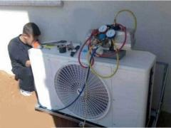 Degreasing of refrigeration units