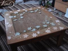 Декоративная роспись столов