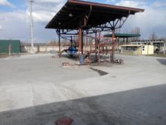 Construction of oil depot (reservoir park, pumping