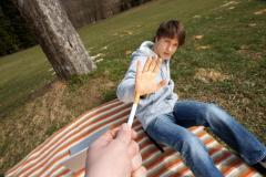 Coding from tobacco smoking in Nova Kakhovke
