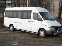 Заказ автобуса Mercedes Sprinter 18 мест.