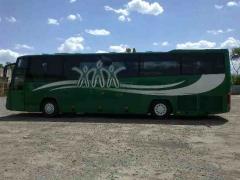Заказ большого автобуса на 55 мест. Перевозки пассажиров