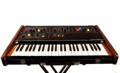 Rent, hire of a synthesizer of the Electronic