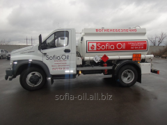 Transportation of oil products of the diesel,