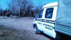 Уборка могил в Донецке