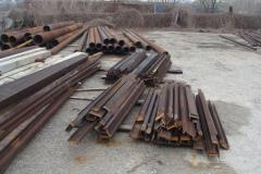 Демонтаж  металлоконструкций и железобетонных