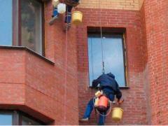 Гидрофобизация фасада, высотные работы