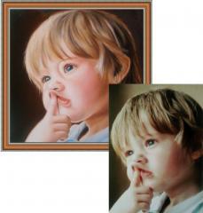Портрет на заказ по фото
