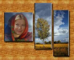 Современный портрет в интерьере (на заказ по фото)