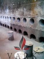 Алмазное бурение сквозных отверстий в бетонной