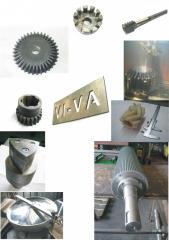 Услуги металлообработки: механо-,термо-,химико-терм. обработка и проч.Аргон,сварка любой сложности