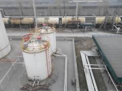 LAYING OF EXTERNAL AND INTERNAL PIPELINES ON OIL