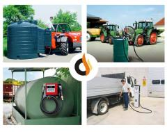 Repair and service of container gas stations