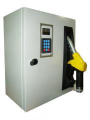 Service fuel of distributing columns