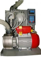 Service of pumps for diesel fuel