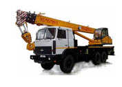 Rent of the Masheka truck crane Length of an arrow
