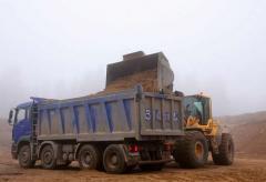 Transportation of construction materials