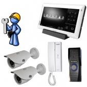 The on-door speakerphone the Premium 1 for the