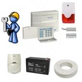 Охранная сигнализация Стандарт для квартиры, офиса со сдачей на пульт центрального наблюдения