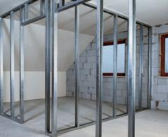 Installation of walls, partitions