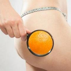 Massage anti-cellulite backs, stomach, hips and buttocks