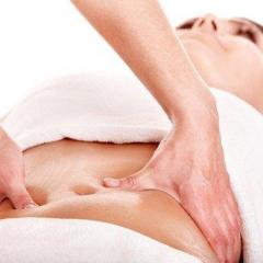 Massage is lymphatic drainage