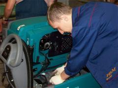 Repair of installations of low pressure