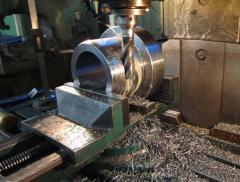 Milling works on metal