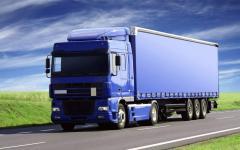Cargo transportation international on a turn-key