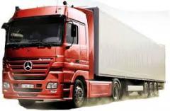 Cargo transportation Moscow-Kiev