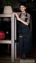 Clothes for cafe and restaurants tailoring and