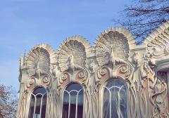 Изготовление фасадных архитектурных элементов из стеклофибробетона, полимербетона, гипса, бетона, композитных материалов.
