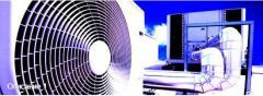 Монтаж систем кондиционирования и вентиляции. Кондиционирование и Вентиляция