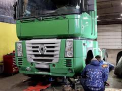 Втулки стабілізатора кабіни -заміна Renault