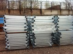 Galvanization of metal wares
