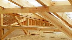 Installation of roof