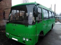 Кузовной ремонт автобусов Богдан