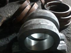 Molding steel, pig-iron, color