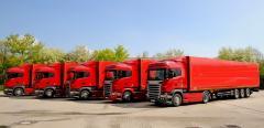 Internationale Straßentransport von übergroßen Ladung
