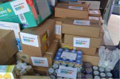 Humanitarian aid shipment