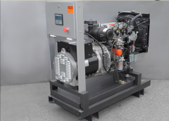 Rent of the gasoline-driven generator 6 of kW 1f