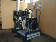 Rent of the diesel generator of 24 kW 3f