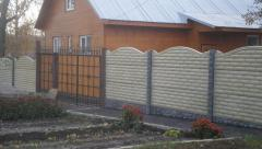 Installation of eurofences