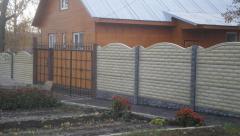 Installation of eurofences