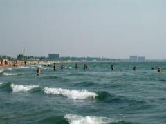 Summer holidays on the Black Sea coast