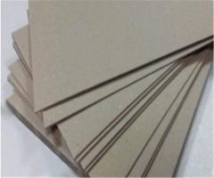 Cardboard binding thicknesses. 1,25mm a format
