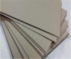 Cardboard binding thicknesses. 1 mm of a format