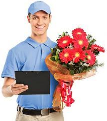 Услуга по доставке цветов